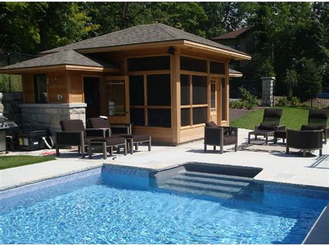 pool houses     home   backyard