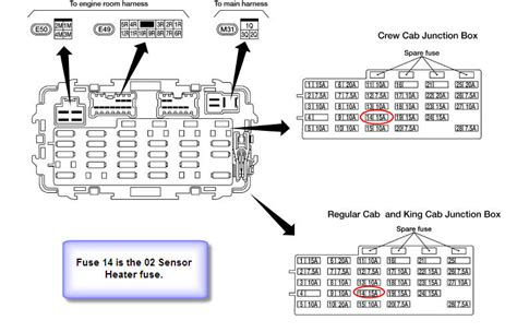 wiring diagram 2005 xterra o2 sensor wiring diagrams