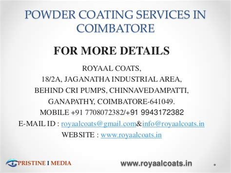 Mba Related In Coimbatore by Powder Coating Services In Coimbatore