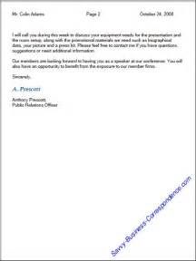 Business Letter Format Pages Page Business Letter