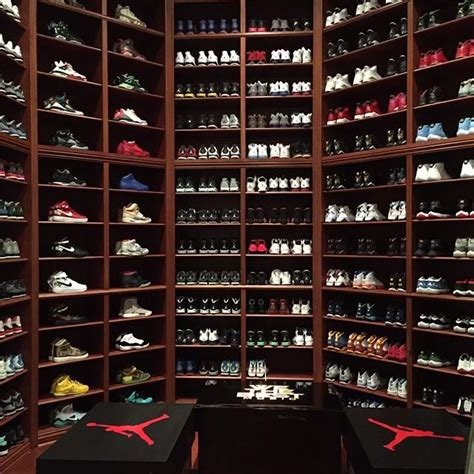 dj khaled just remodeled his sneaker room and it s