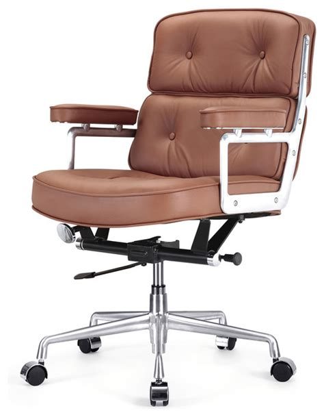 leather office furniture italian leather office chair brown contemporary office chairs by meelano