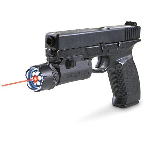 pistol laser light combo walther 174 air gun laser light combo 157049