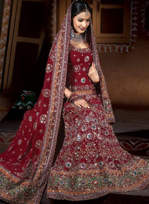 All About An Indian Bride: Indian Bridal Wear