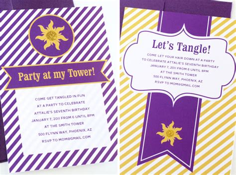 tangled printable party decorations easy tangled party invites paging supermom