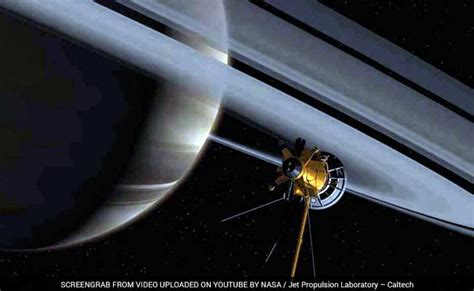 nasa saturn mission nasa s cassini begins ring grazing mission at saturn