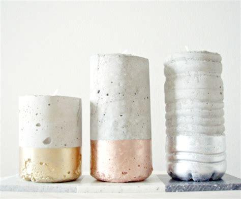 beton le diy diy des bougeoirs en b 233 ton lili in
