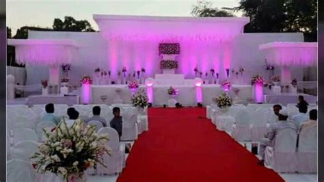 new home wedding decoration ideas youtube indian wedding decorations theme idea in ahmadabad gujarat