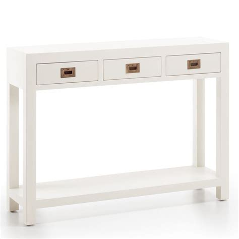 arredamento coloniale bianco consolle coloniale etnico outlet mobili shabby chic