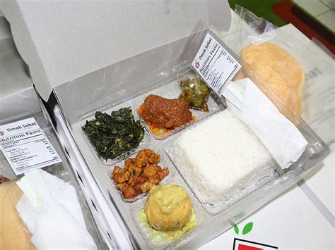 Nasi Ijo Kotak nasi kotak omah sehat catering