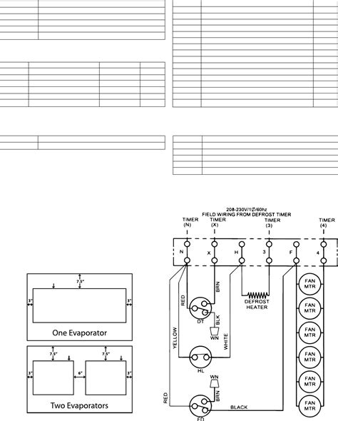 heatcraft walk in cooler wiring diagram norlake wiring