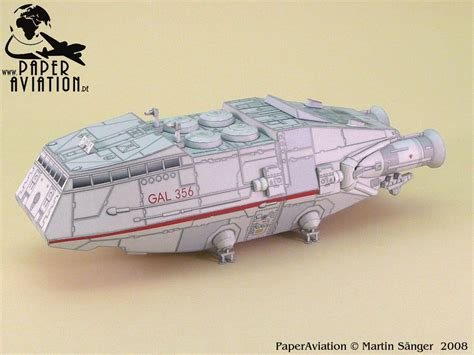 Battlestar Galactica Papercraft - bsg paper models byyourcommand net