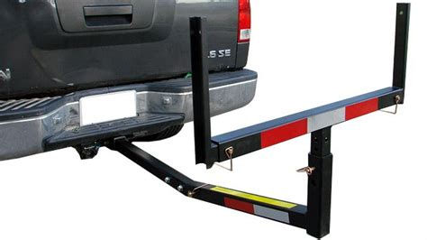 truck bed extender hitch pick up truck bed hitch extender extension rack ladder canoe boat kayak lumber ebay