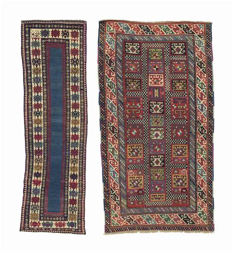 talish rug a talish rug and a kazak rug south caucasus late 19th century and early 19th century christie s