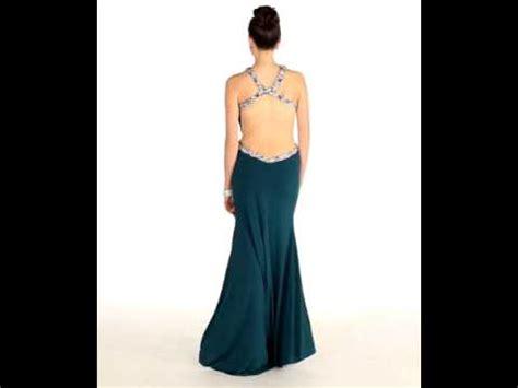 Hq 18477 Low Shoulder Evening Dress cris cross sequins low back prom dress mq1004