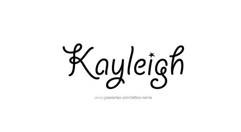 Tattoo Name Kayleigh | kayleigh name tattoo designs