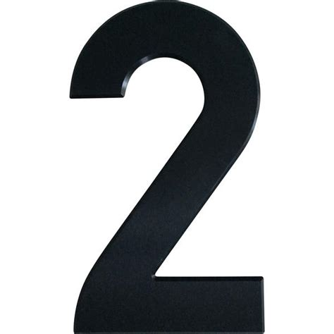 Curb Appeal Products - large house number 2 29 5cm