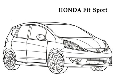 coloring sheets honda coloring pages and print for free