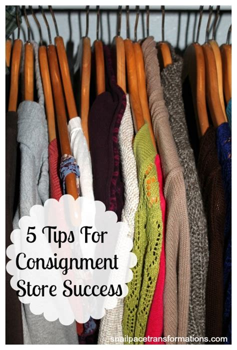 selling saturdays 5 consignment store tips snail pace