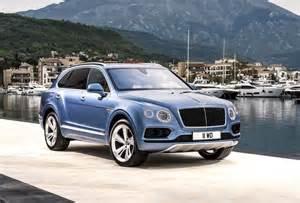 Bentley Diesel Bentley Bentayga Diesel Revealed Gets Tri Turbo V8