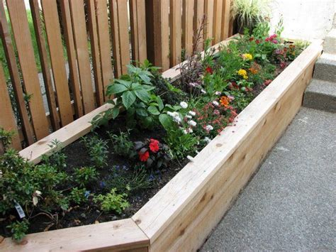 raised bed planter raised planter beds ecoyards
