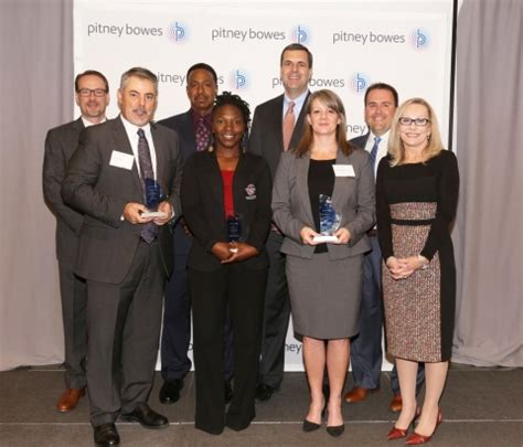 brilliance awards pitney bowes announces winners of 2017 brilliance awards