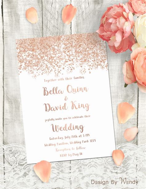 Simple But Invitations Wedding