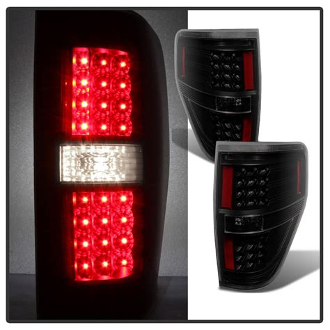 2009 2014 ford f150 performance led lights black smoked