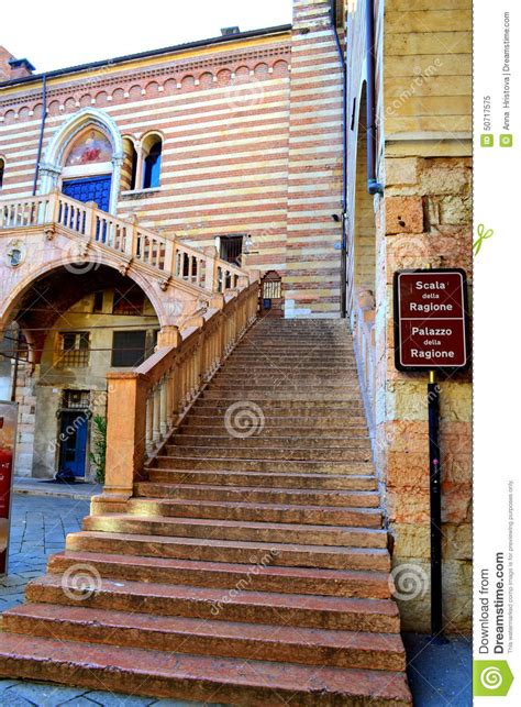 famous stairs verona old stairs italy stock photo image 50717575