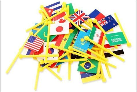 Pajangan Menara Pisa Italy 17 5cm Learning Tower Of Pisa 36 countries flags 3d wood wooden wooden educational toys puzzle national flag three