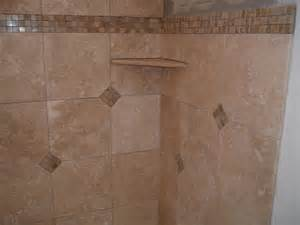 travertine shower with custom corner shelf yelp