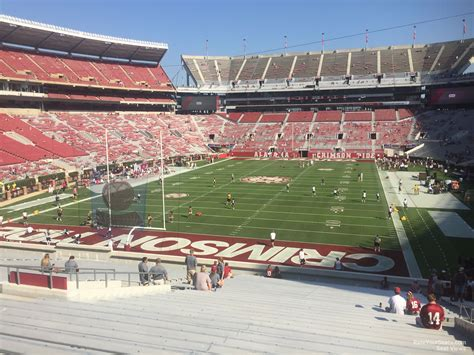 bryant denny stadium student section bryant denny stadium section s3 rateyourseats com