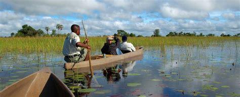 okavango river boats okavango delta safari holidays in botswana on the go