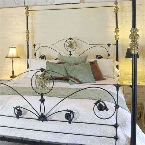 iron four poster bed cast iron four poster bed at 1stdibs