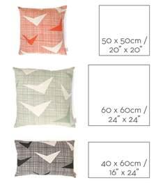 Cushion Size Shop News Three Sizes Of Cushions Laminx