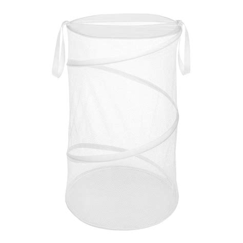 Whitmor White Collapsible Laundry Her 6233 1170 W Pdq Whitmor Laundry