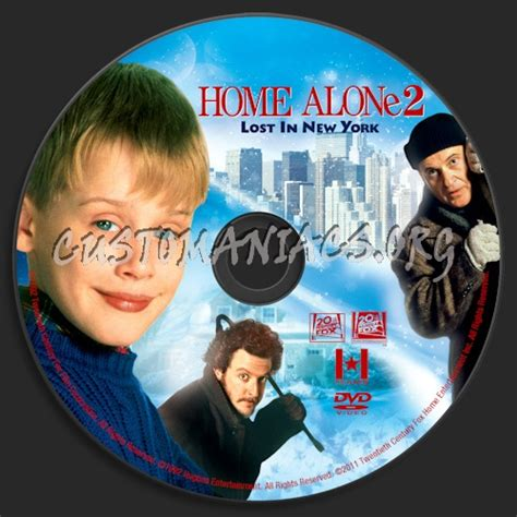 home alone 2 lost in new york dvd label dvd covers