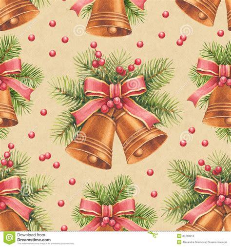 vintage holiday pattern vintage christmas pattern stock images image 34759914