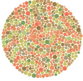 anti color blind test talk ishihara test