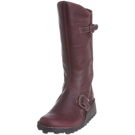 cheap boots fly mes purple womens new boots shoes cheap ebay