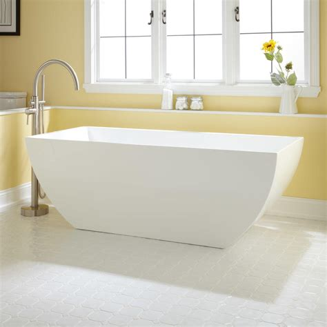 Bathroom Freestanding Tubs Emery Acrylic Freestanding Tub Bathroom