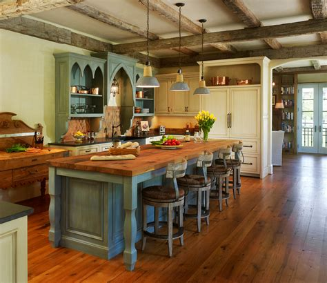 bloombety old country small kitchen island design old classic nuance of traditional kitchen created on wooden