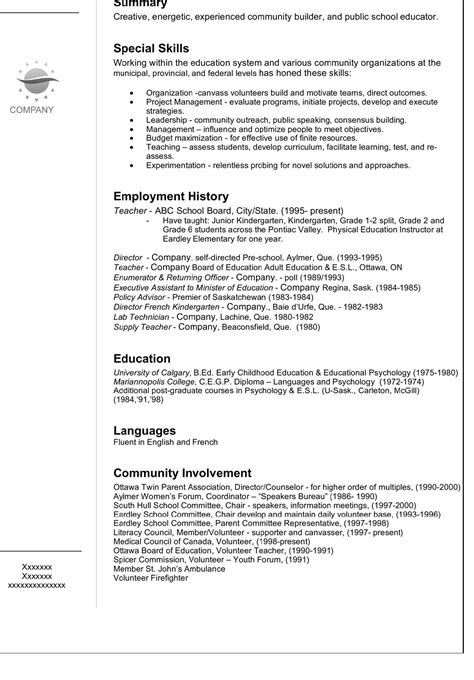 resume templates good resume template cover letter for resume