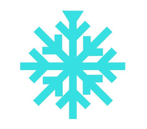 Easy Snowflake Outline by 15 Free Snowflake Template Free Printable Word Pdf Jpeg Format Free Premium