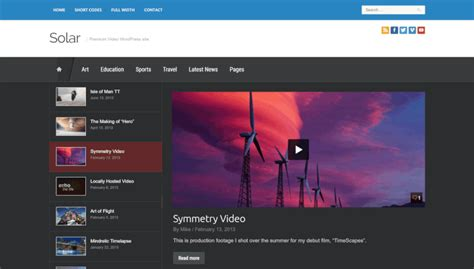 youtube themes gallery 21 best youtube video gallery wordpress themes 2018