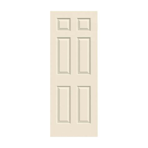 20 Interior Door Jeld Wen 20 In X 80 In Colonial Primed Textured Molded Composite Mdf Interior Door Slab