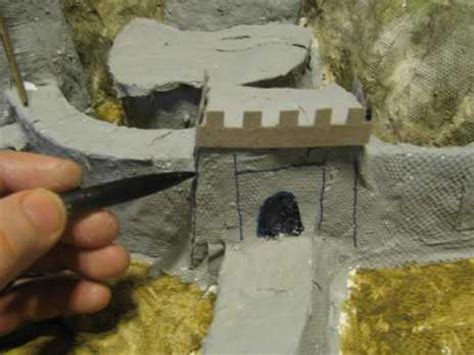 How To Make A Diorama With Paper - how to make a paper mache diorama