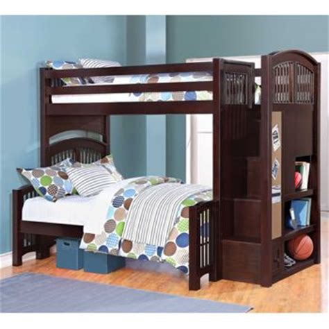 Costco Summit Staircase Twin Over Full Bunk Bed Costco Bunk Beds For Costco