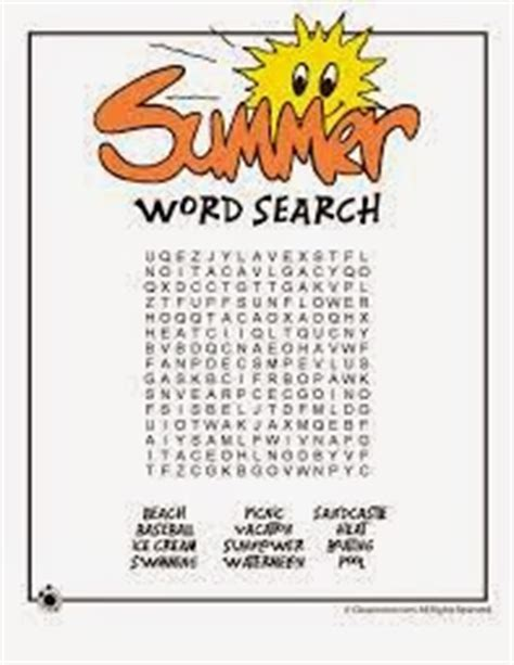 printable word search vacation 7 new summer vacation word search printable for kids