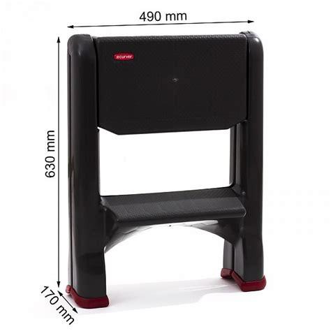 curver folding mini step stool mounting block